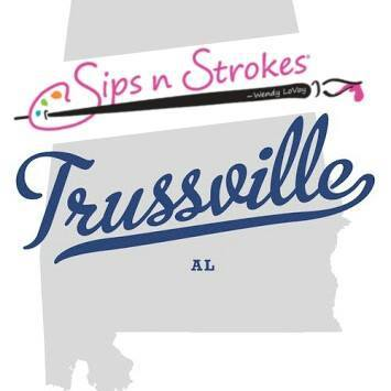 Sips N Strokes Trussville Paint & Pottery