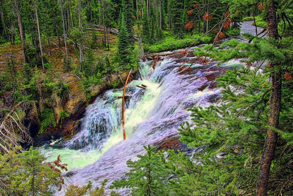 Terraced Falls, Yellowstone