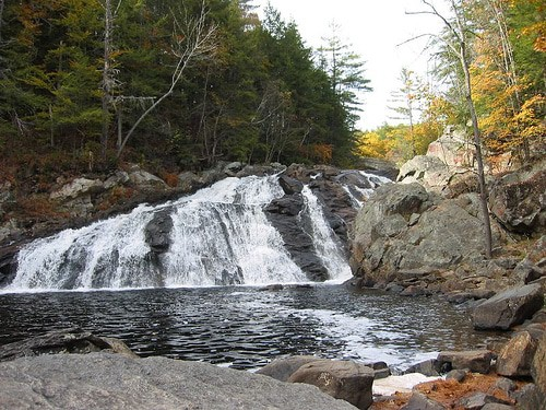 Profile Falls, New Hampshire
