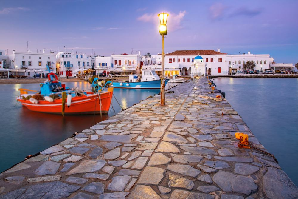 Old Harbour, Mykonos