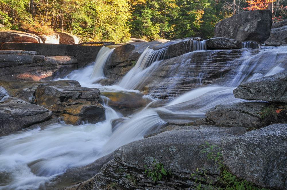 15 Amazing Waterfalls in New Hampshire - The Crazy Tourist