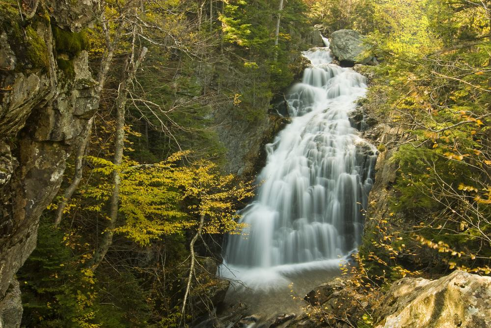 Crystal Cascade Falls, New Hampshire