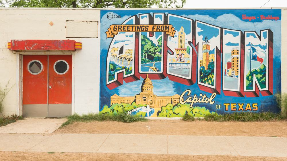 Downtown Austin Mural, Texas