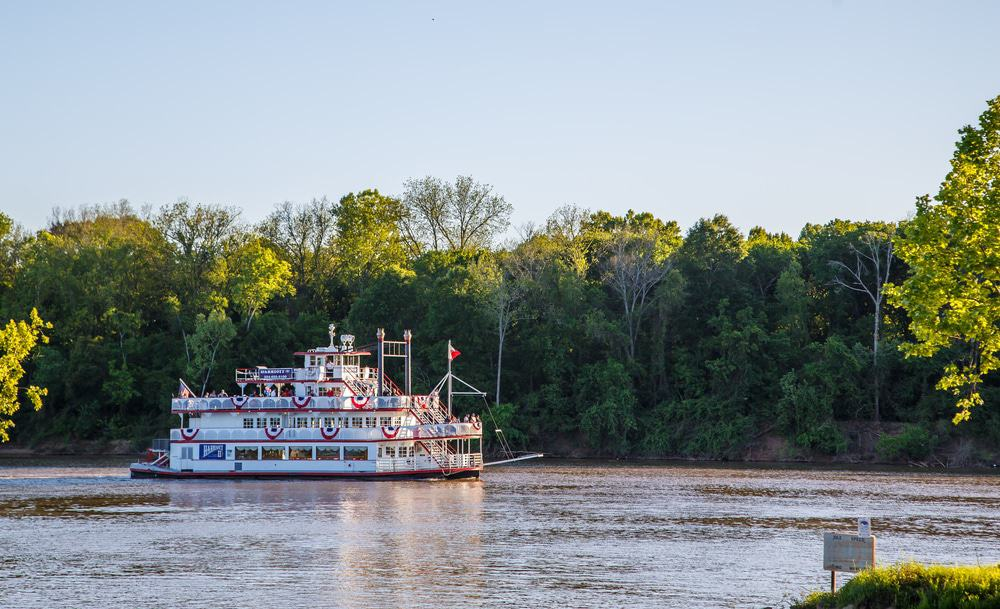 Riverboat, Alabama River, Montgomery