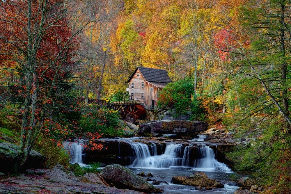 Babcock Mill Creek Falls, West Virginia