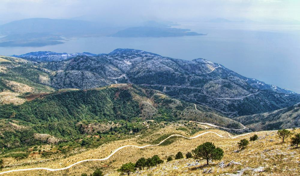 View from Mount Pantokrator