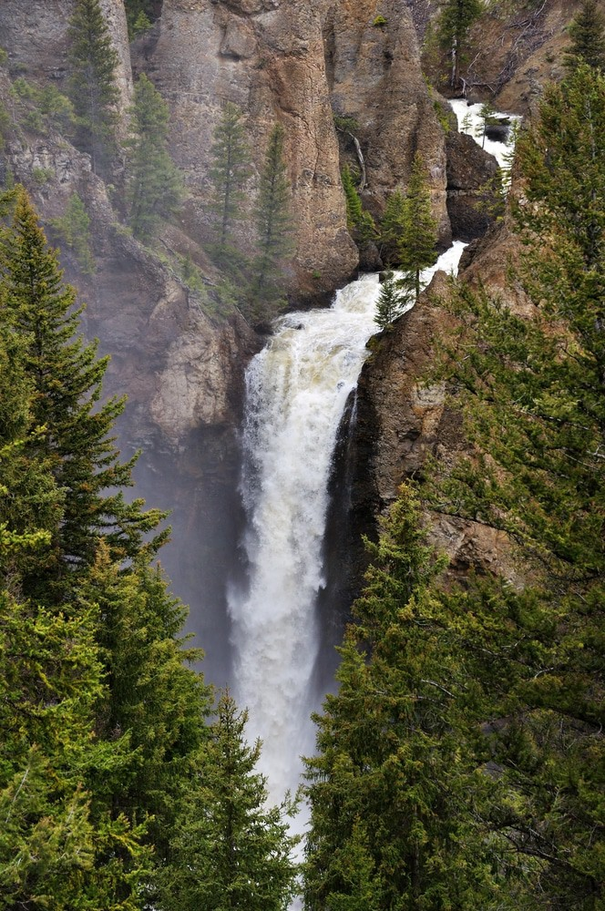 Tower Falls, Wyoming