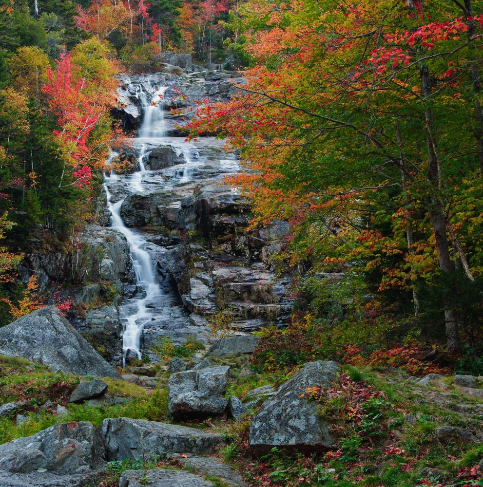 Silver Cascade, New Hampshire