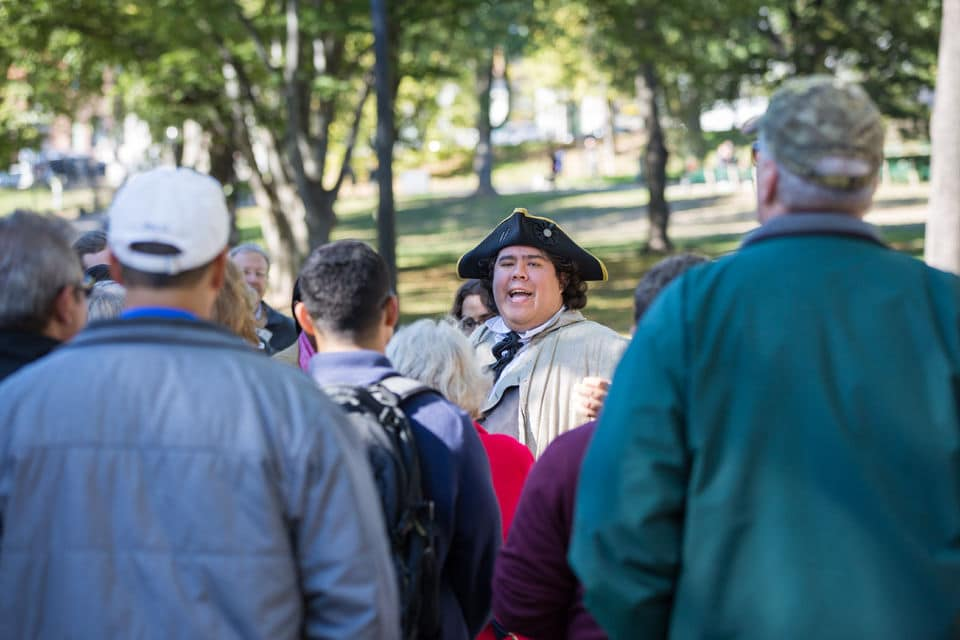 Boston's Freedom Trail Walk