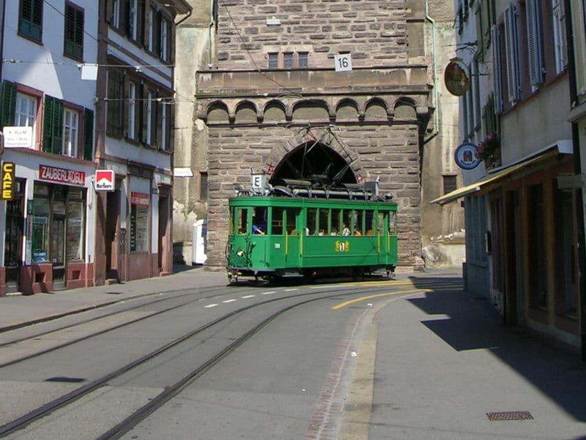 Basel City Tour In A Vintage Streetcar