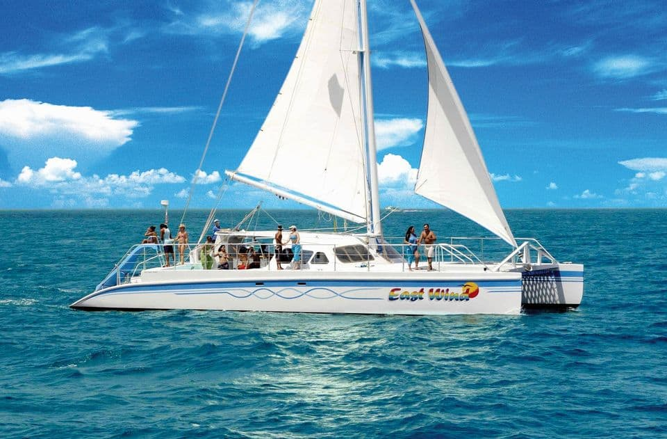Catamaran To Icacos Island Area