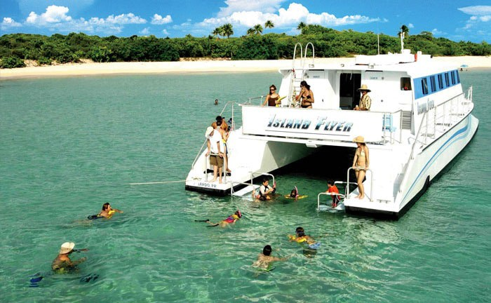 Full-Day Culebra Islands Catamaran Tour