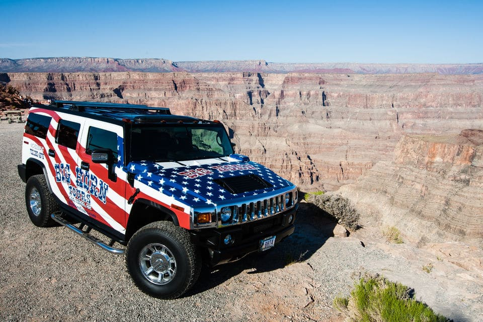 Grand Canyon In A Day - Hummer Tour