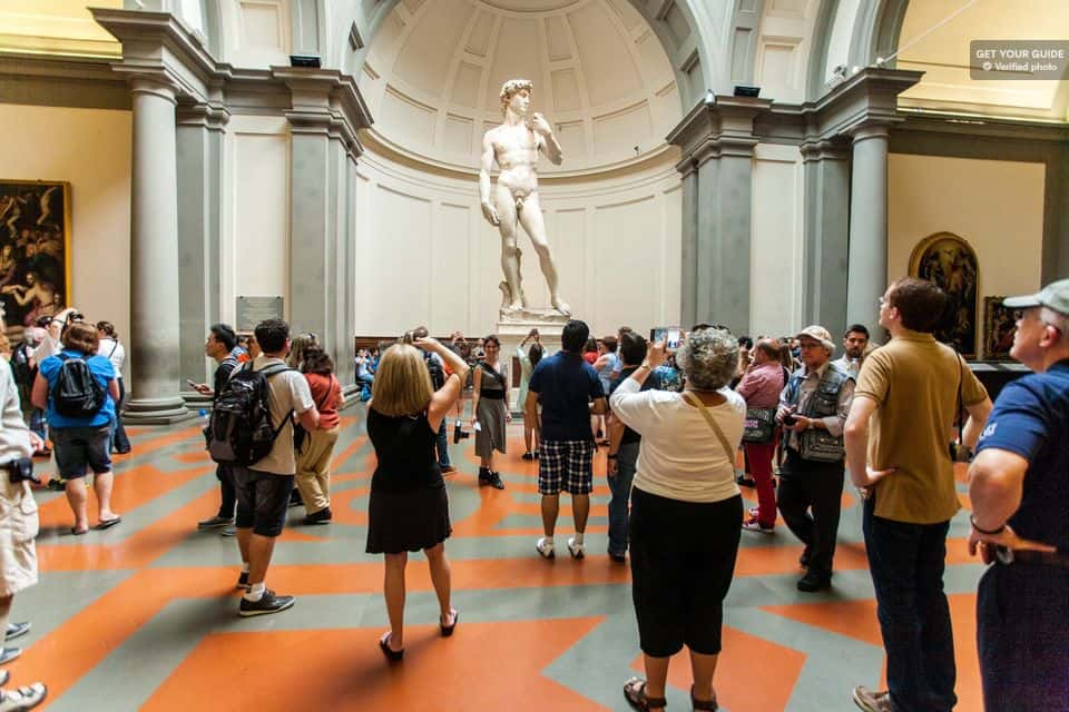 Michelangelo's David Guided Tour