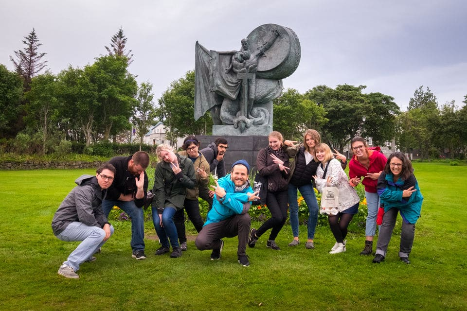 Myths And Monsters Of Iceland Walking Tour