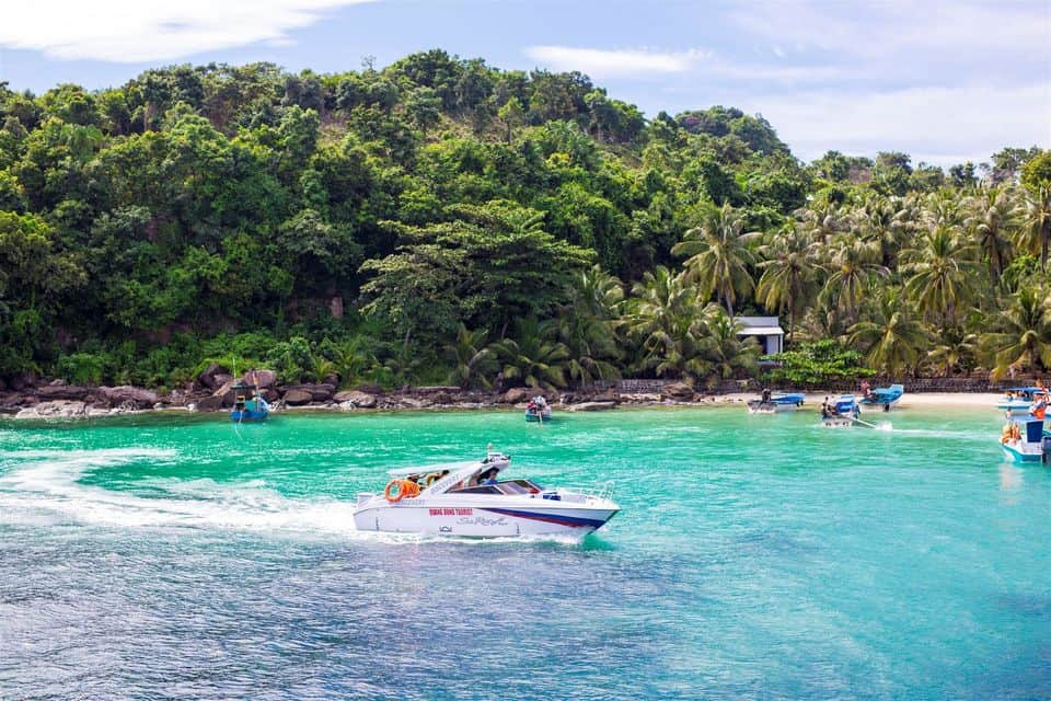 Phu Quoc - Speedboat Tour To 4 Islands