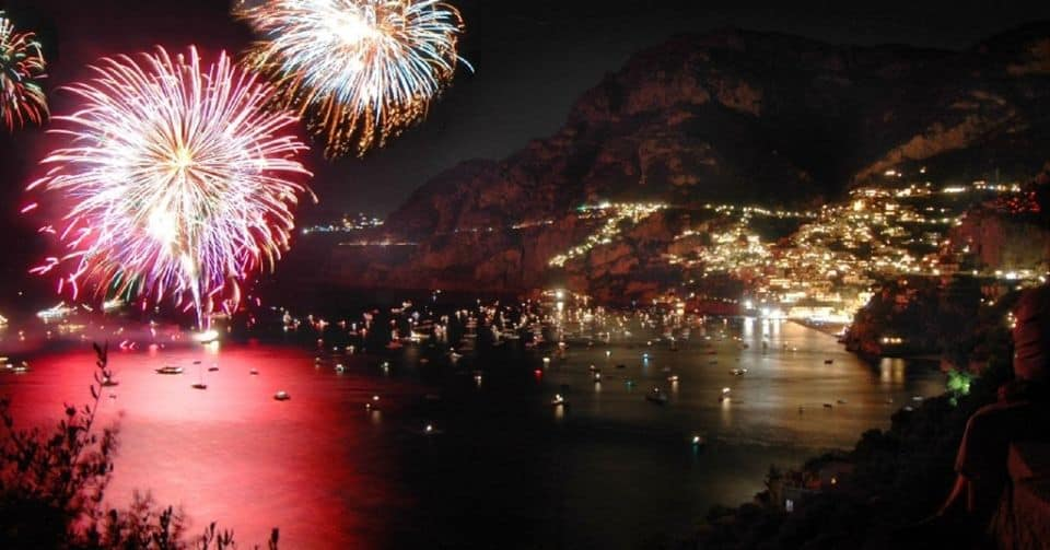 Positano Sunset Cruise And Fireworks Show