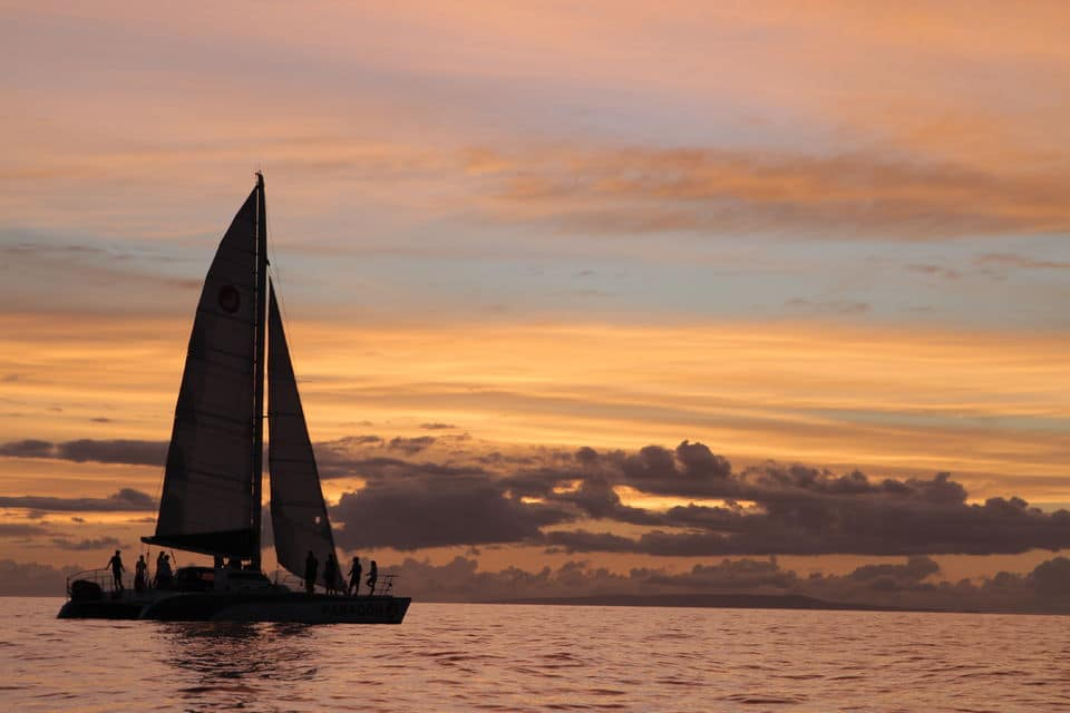 Sunset Sailing Cruise With Champagne From Lahaina