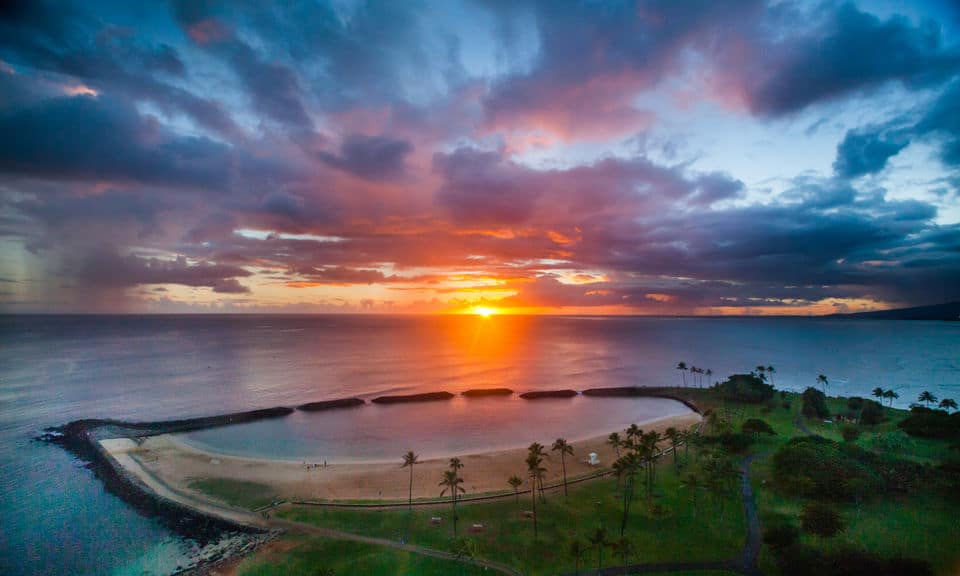 Waikiki Sunset Doors On Or Doors Off Helicopter Tour