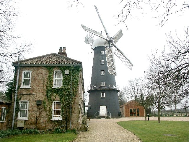 Alford Five-Sailed Windmill