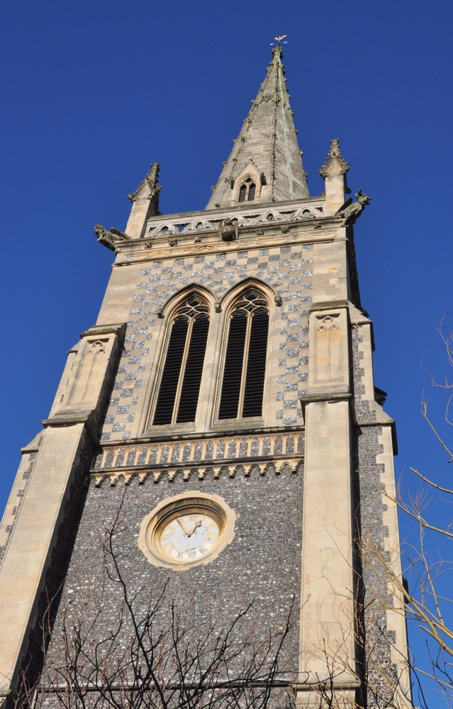 St Mary le Tower