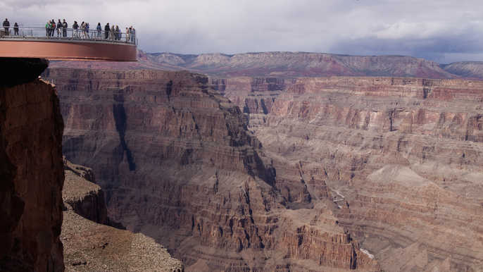Grand Canyon South Rim: Motorcoach Day Tour from Las Vegas