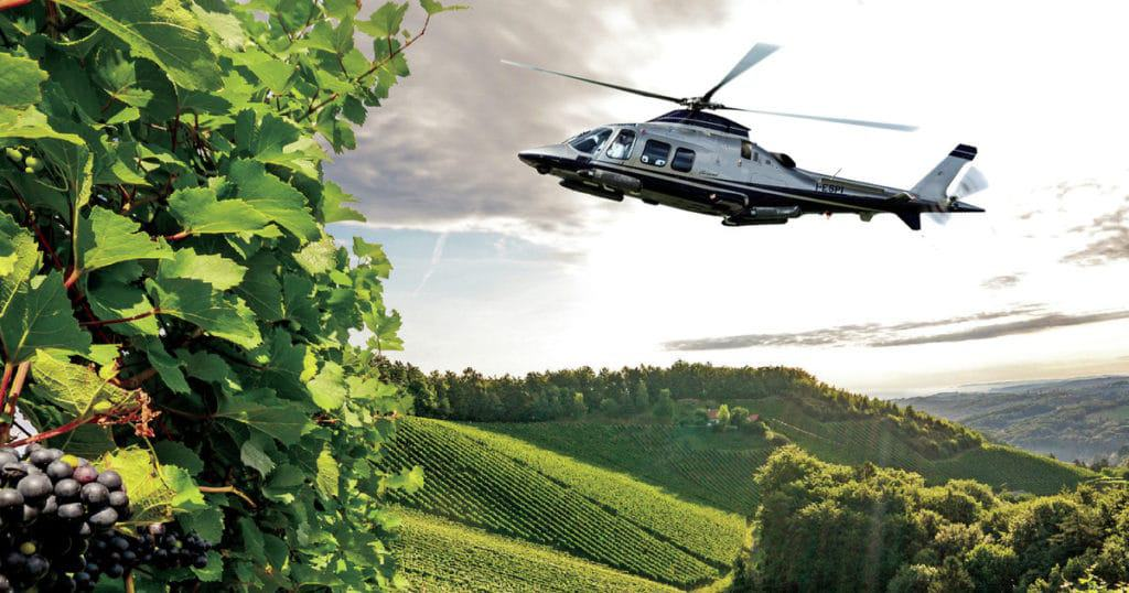 Tuscany: Helicopter Wine Tour
