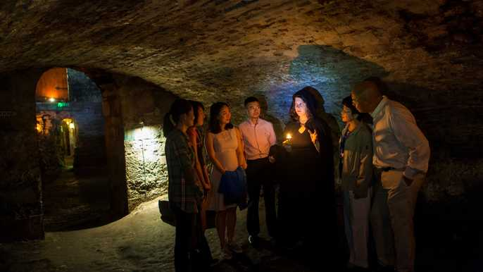 Ghostly Underground Vaults Tour
