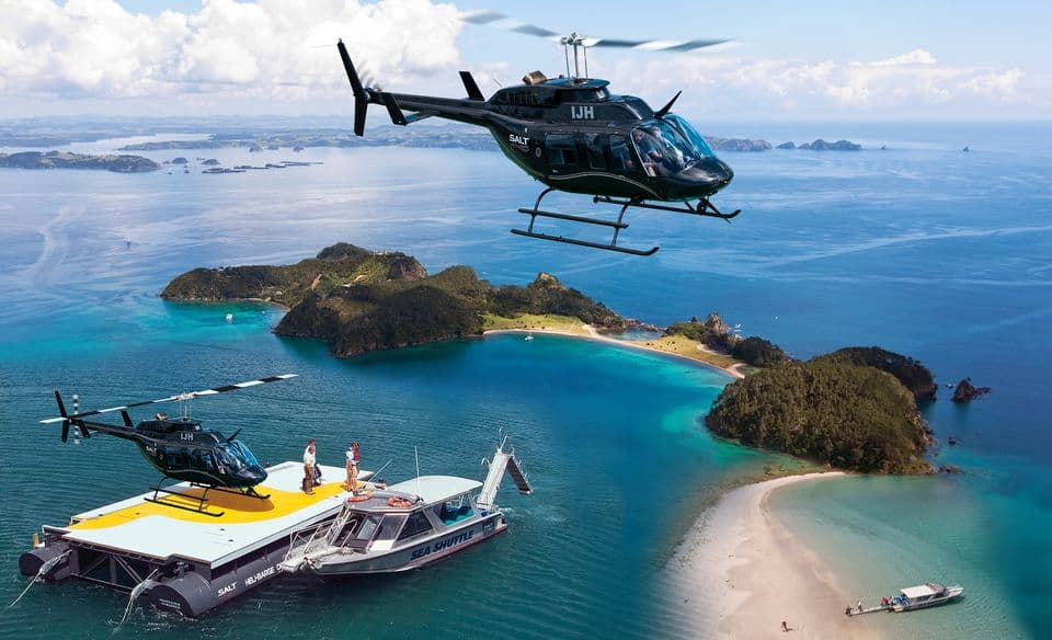 Bay Of Islands - Helicopter And Cruise