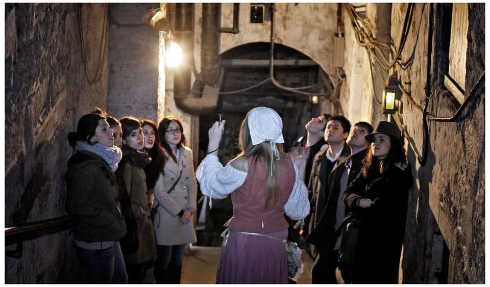Beneath The Royal Mile Guided Tour