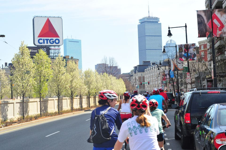Boston City View Bike Tour