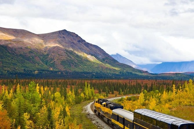 Denali To Anchorage Railroad