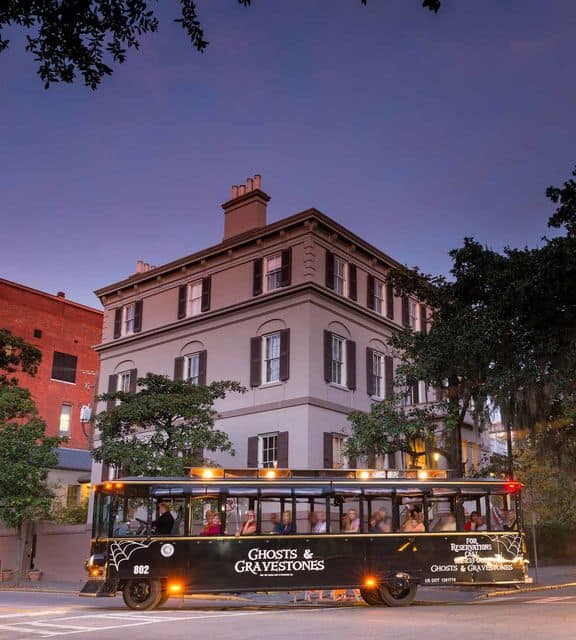 Ghosts & Gravestones Trolley Tour