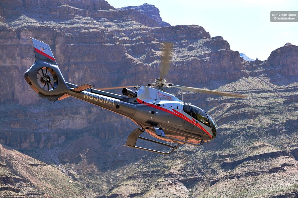 Grand Canyon Helicopter Landing Tour
