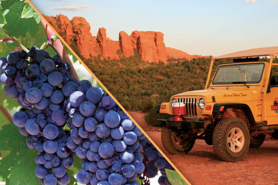 Half-Day Jeep And Winery Combo Tour