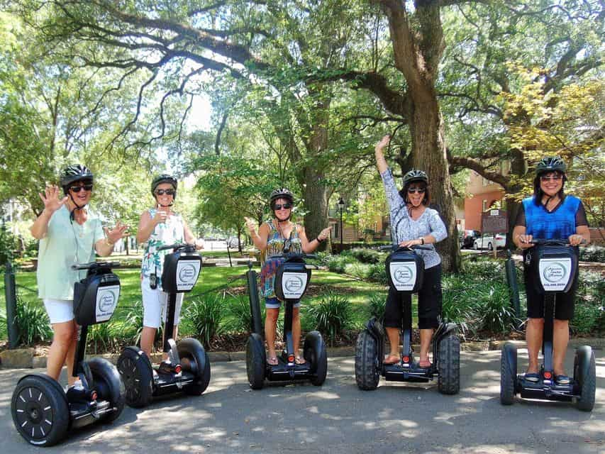 Historic Downtown Savannah By Segway