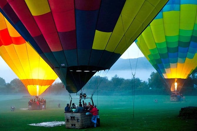 Hot-Air Balloon Ride In Napa Valley