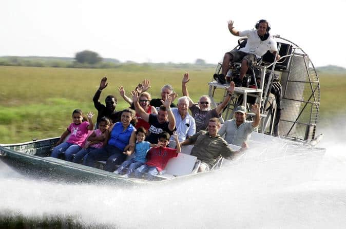 Kennedy Space Center And Everglades Airboat Safari
