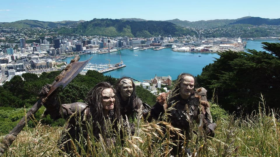 Lord Of The Rings Tour, Wellington