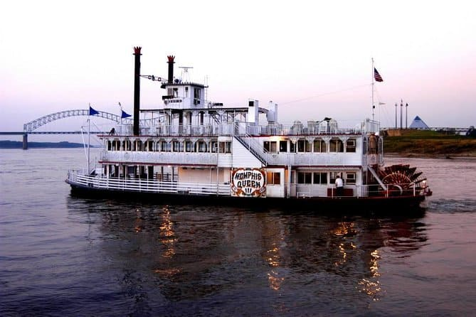 Memphis City Tour And Riverboat Cruise