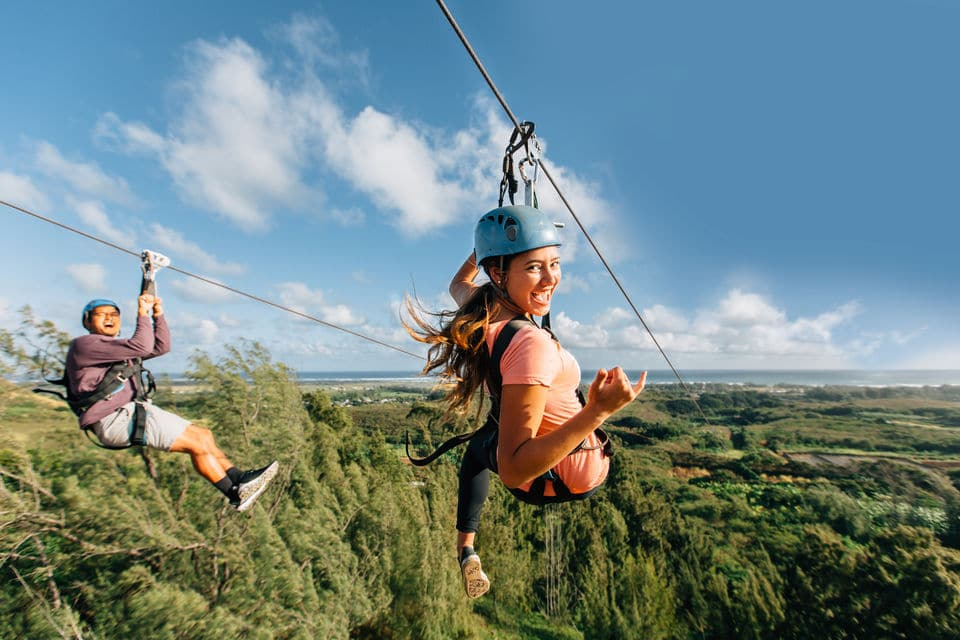 North Shore Zip Line Adventure With Farm Tour