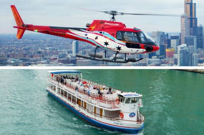River Cruise And Helicopter Tour