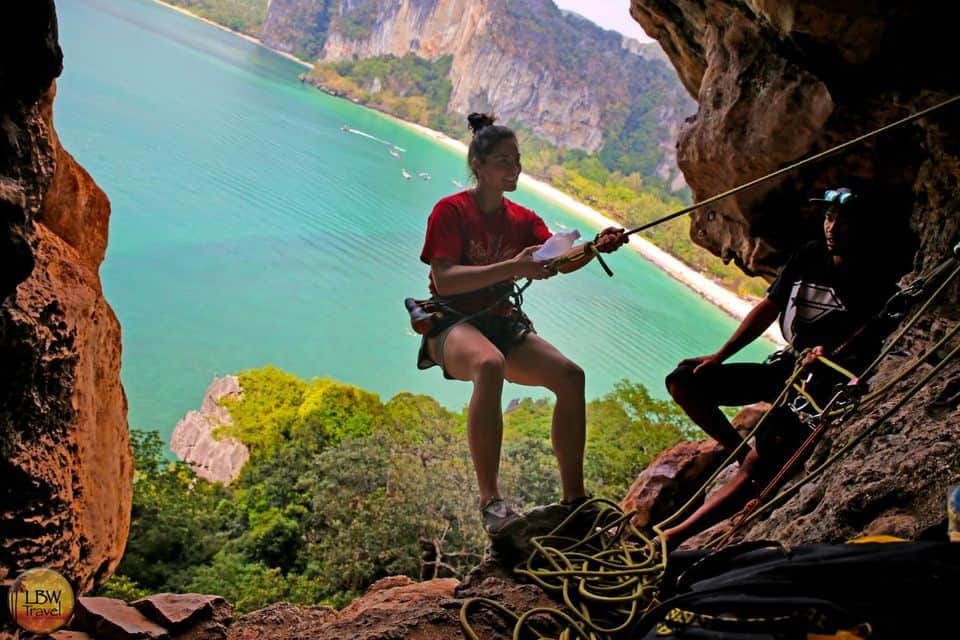 Rock Climbing Tour At Railay Beach