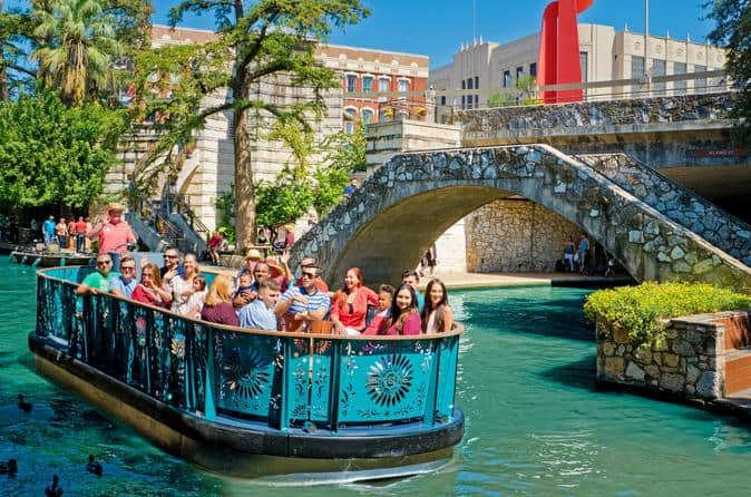 San Antonio River Walk Cruise And Hop On Hop Off Bus Tour