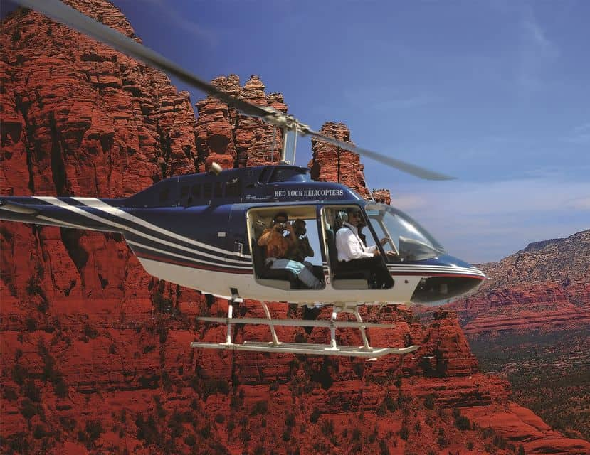 Sedona Jeep And Helicopter Combination