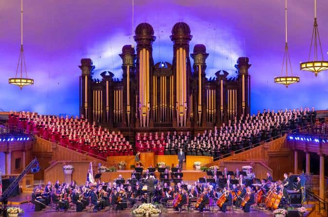 Tabernacle Choir At Temple Square Performance