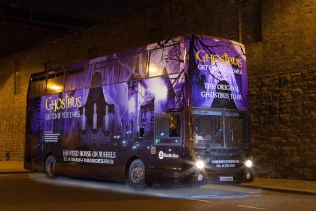The Dublin Ghostbus Tour
