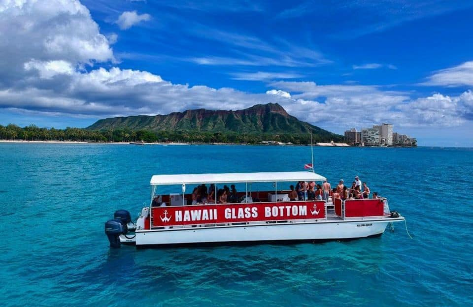 Waikiki Glass Bottom Boat Sunset Cruise