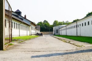 Dachau Concentration Camp in Germany