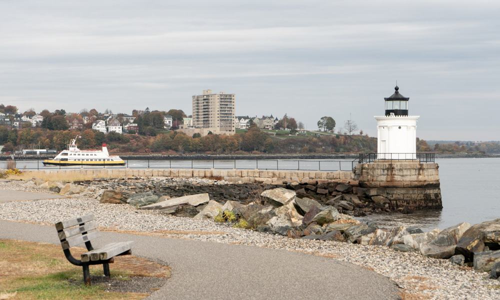 Bug Light Park, Portland